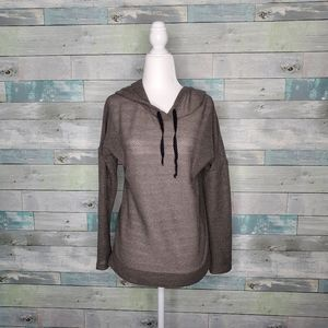 Maurices Mesh Style Perforated Hoodie Size S